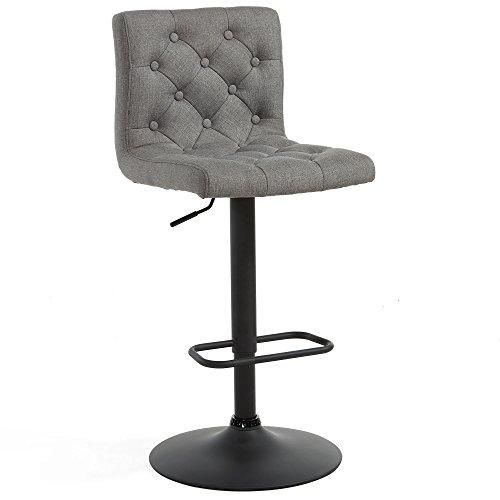 Admirable Details About Worldwide Homefurnishings Inc 42 5 In Extra Tall Bar Stools In Gray Set Of 2 Machost Co Dining Chair Design Ideas Machostcouk