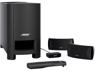 bose cinemate series i 2 1 channel digital home theater. Black Bedroom Furniture Sets. Home Design Ideas